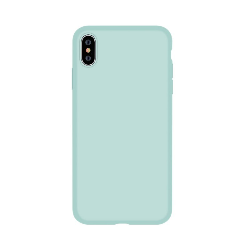 Devia Nature Series Green - iPhone XS / X Carcasa Silicon