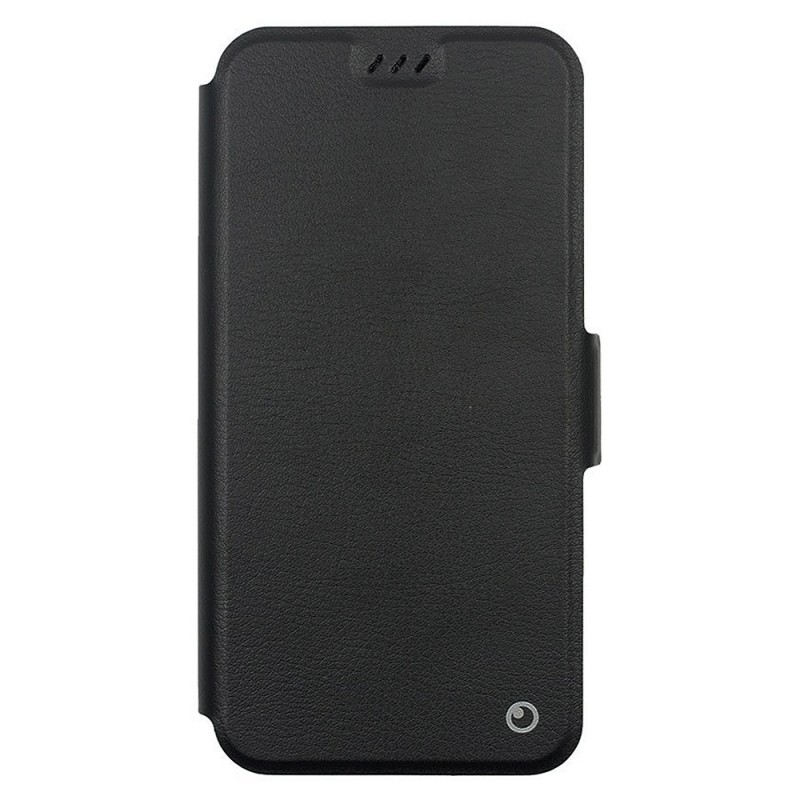 Lemontti Elegant - Samsung Galaxy J4 Plus Husa Book Neagra