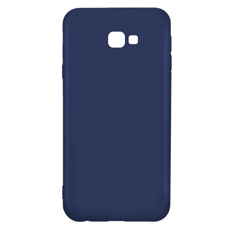 Just Must Candy Navy - Samsung Galaxy J4 Plus Carcasa Silicon Albastru