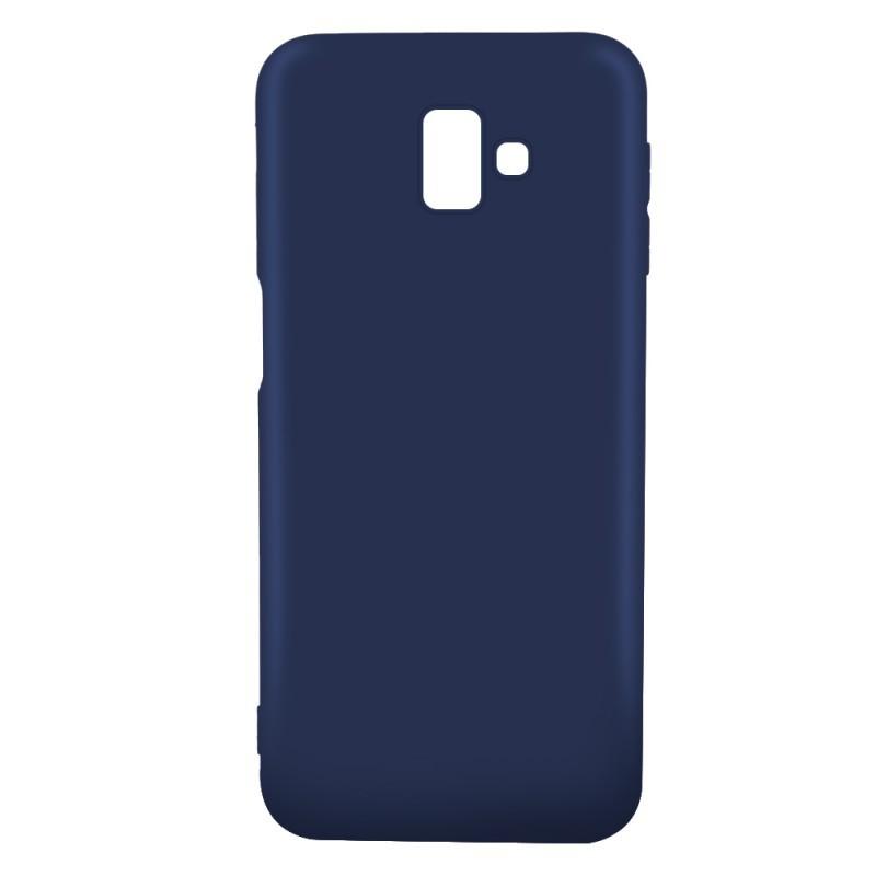 Just Must Candy Navy - Samsung Galaxy J6 Plus Carcasa Silicon Albastru