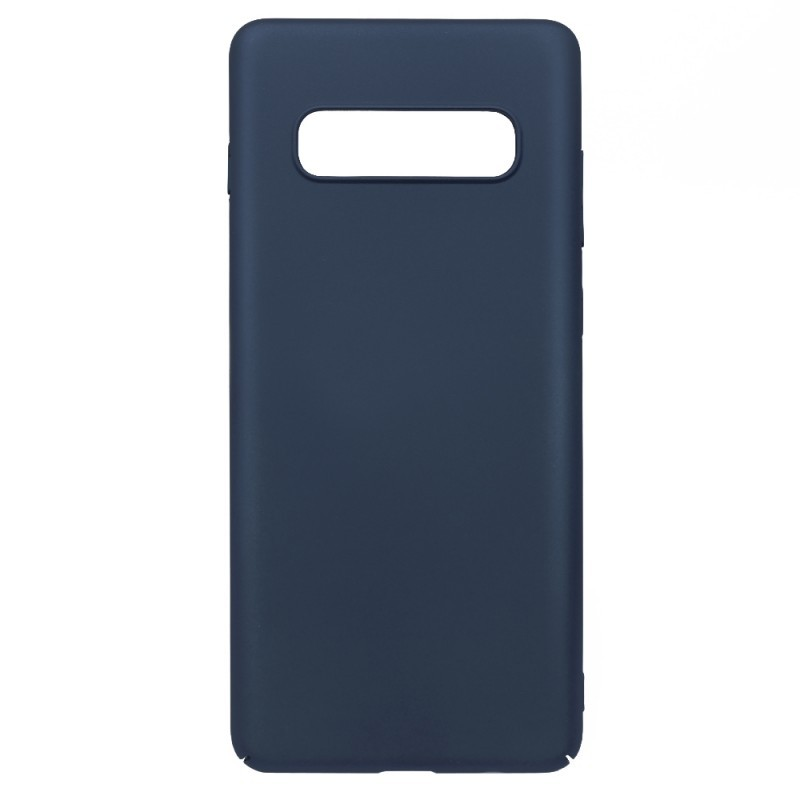 Just Must Uvo Navy - Samsung Galaxy S10 Carcasa Plastic (material fin la atingere, slim fit)