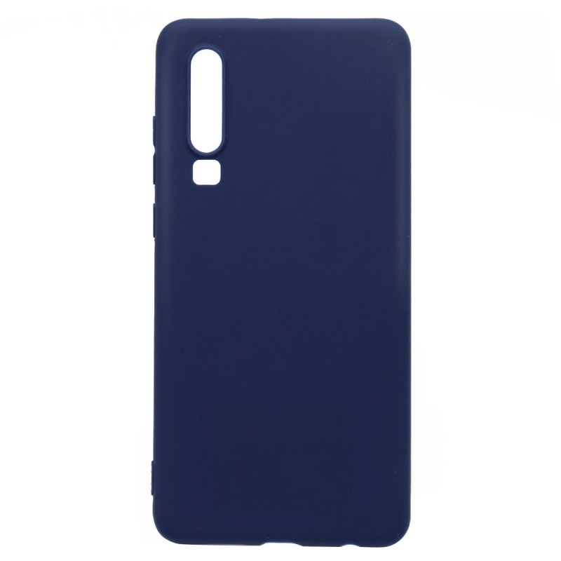 Just Must Candy Navy - Huawei P30 Carcasa Silicon