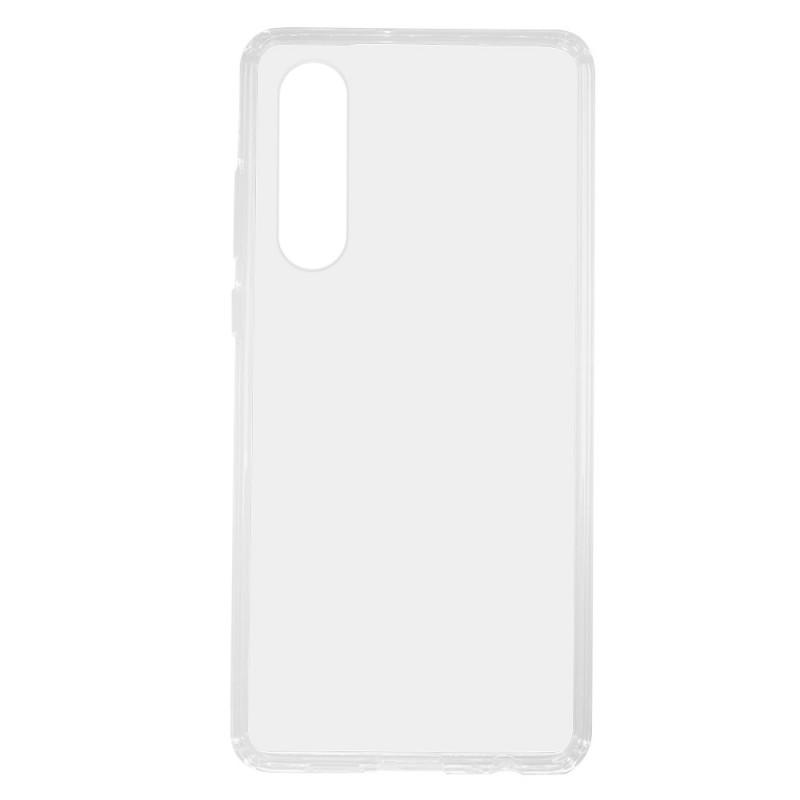 Just Must Pure II Clear - Huawei P30 Carcasa Slim (spate transparent, margini flexibile)