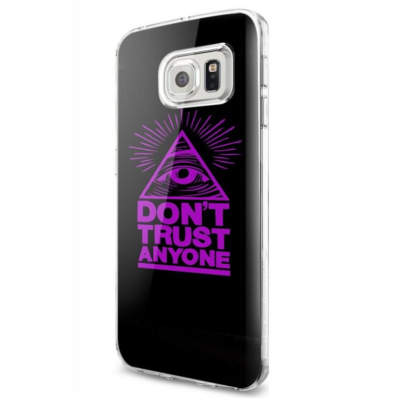 Don't Trust Anyone - Samsung Galaxy S7 Carcasa Silicon