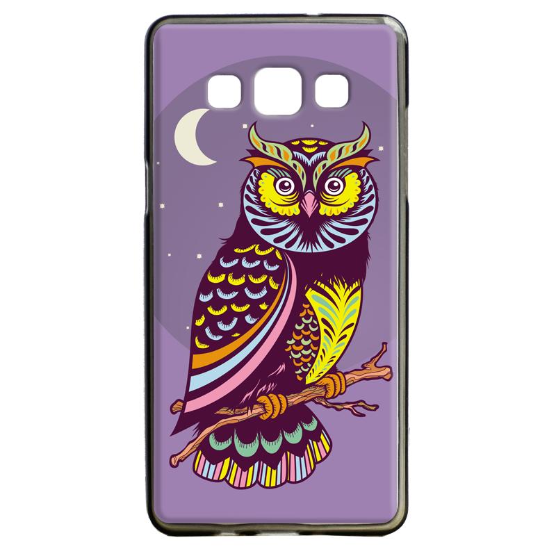 Purple Nights - Samsung Galaxy A5 Carcasa Silicon