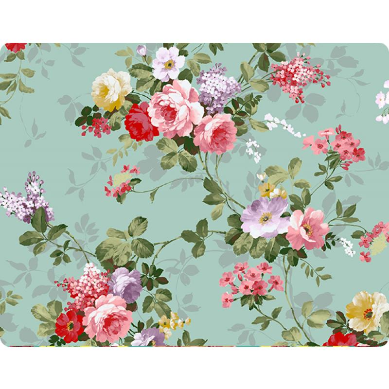 Retro Flowers Wallpaper - Skin Telefon