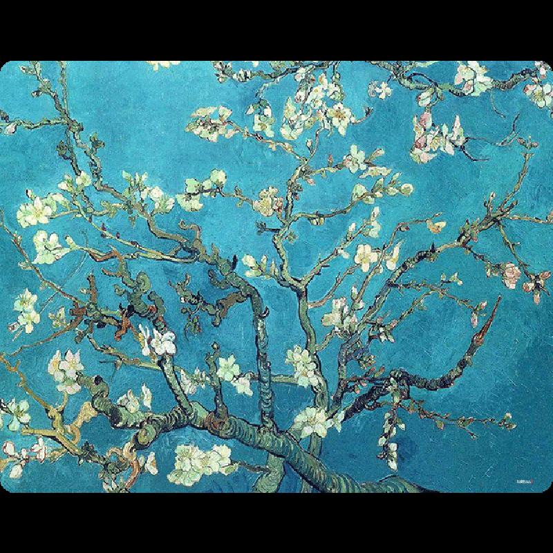 Van Gogh - Branches with Almond Blossom - iPhone 6 Plus Carcasa TPU Premium Neagra