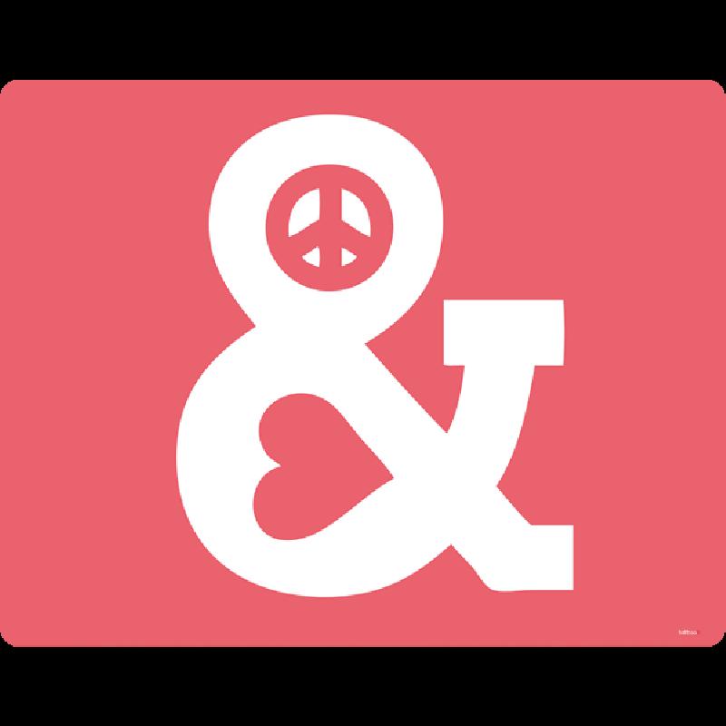 Peace & Love - Skin Telefon
