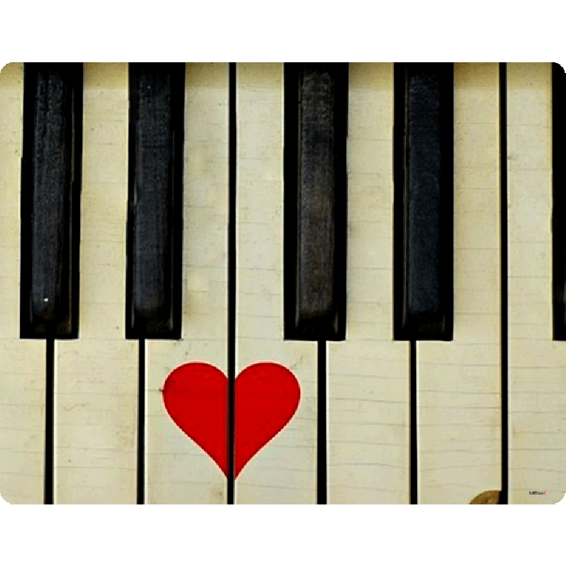 Piano Love - Skin Telefon