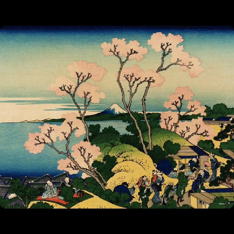 Hokusai - The Fuji from Gotenyama at Shinagawa on the Tokaido