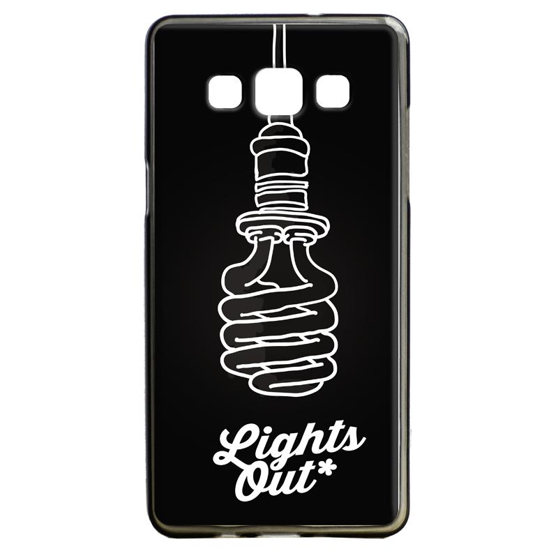 Lights Out - Samsung Galaxy A5 Carcasa Silicon