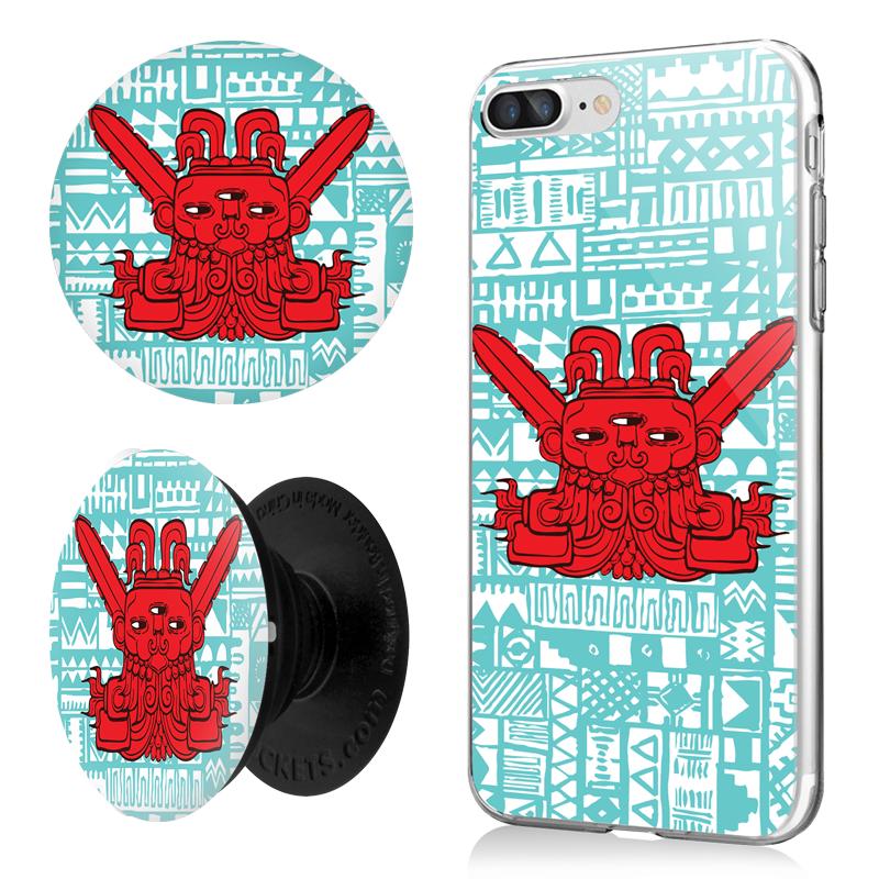 Combo Popsocket Red God