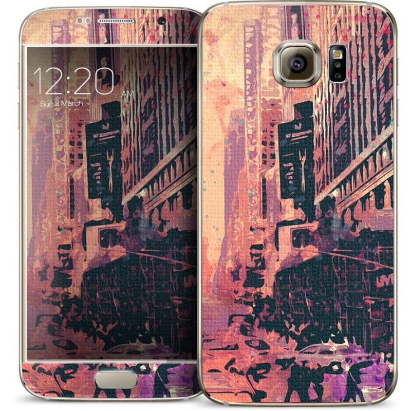 New York Time Square - Samsung Galaxy S6 Skin