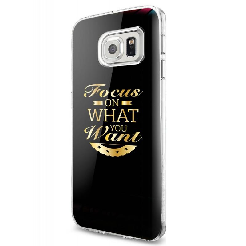 Focus - Samsung Galaxy S7 Carcasa Plastic Premium