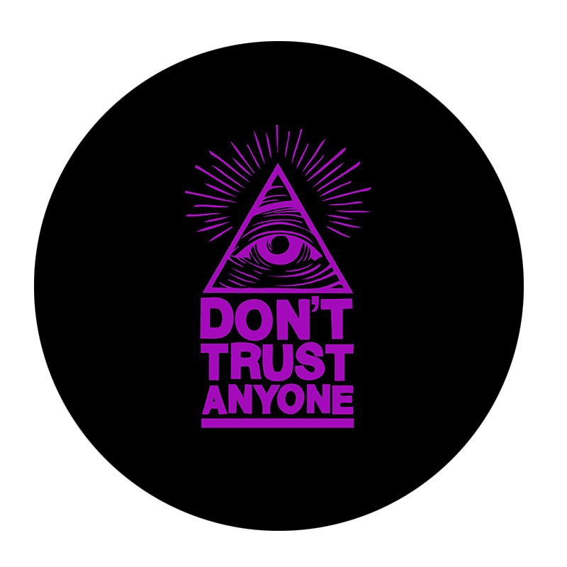 Popsocket Don't Trust Anyone, Accesoriu telefon