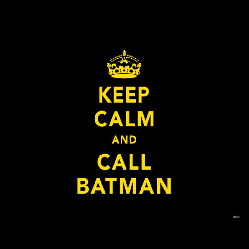 Keep Calm and Call Batman - Skin Telefon