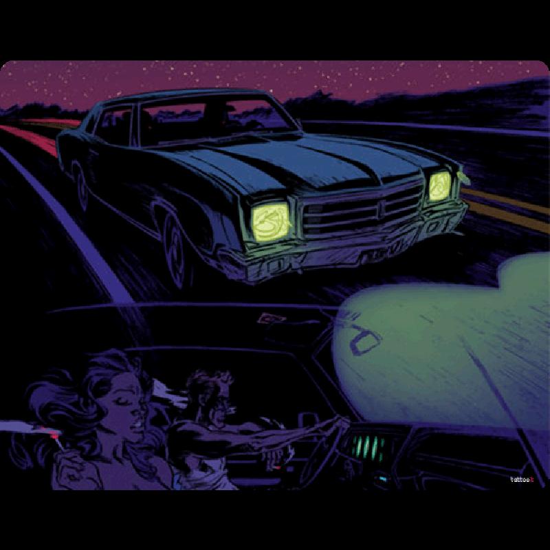 Night Ride - Skin Telefon