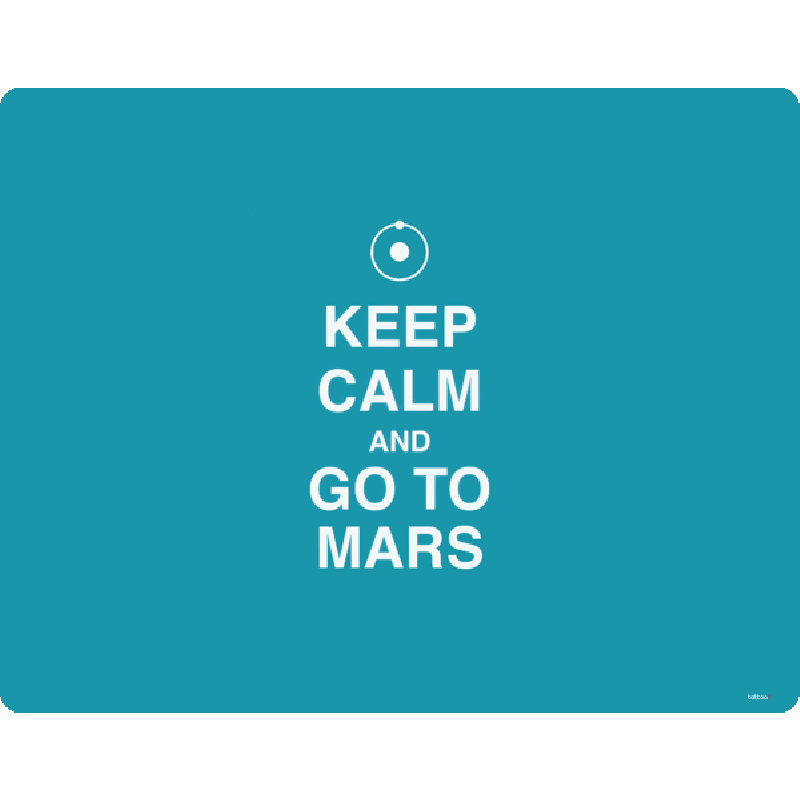 Keep Calm and Go to Mars - Skin Telefon