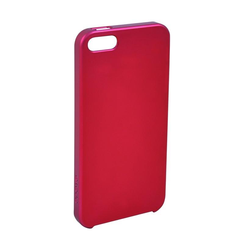 Glitter Burgundy - Odoyo iPhone 5/5S/SE Carcasa Plastic Rosu