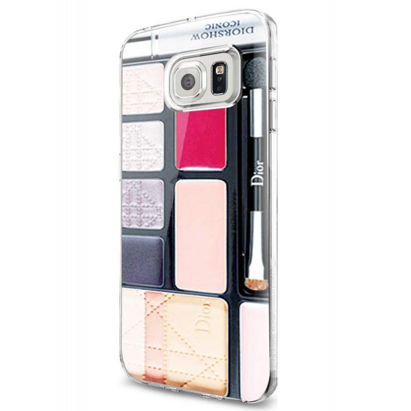 Dior Eye Shadow - Samsung Galaxy S7 Edge Carcasa Silicon