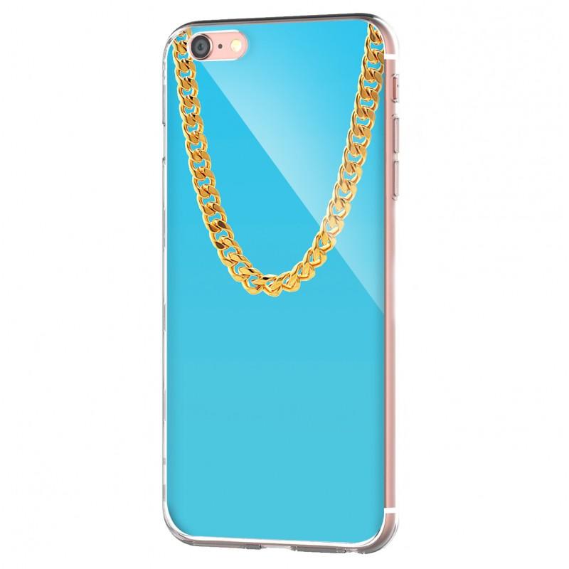 Chain - iPhone 6 Carcasa Transparenta Silicon