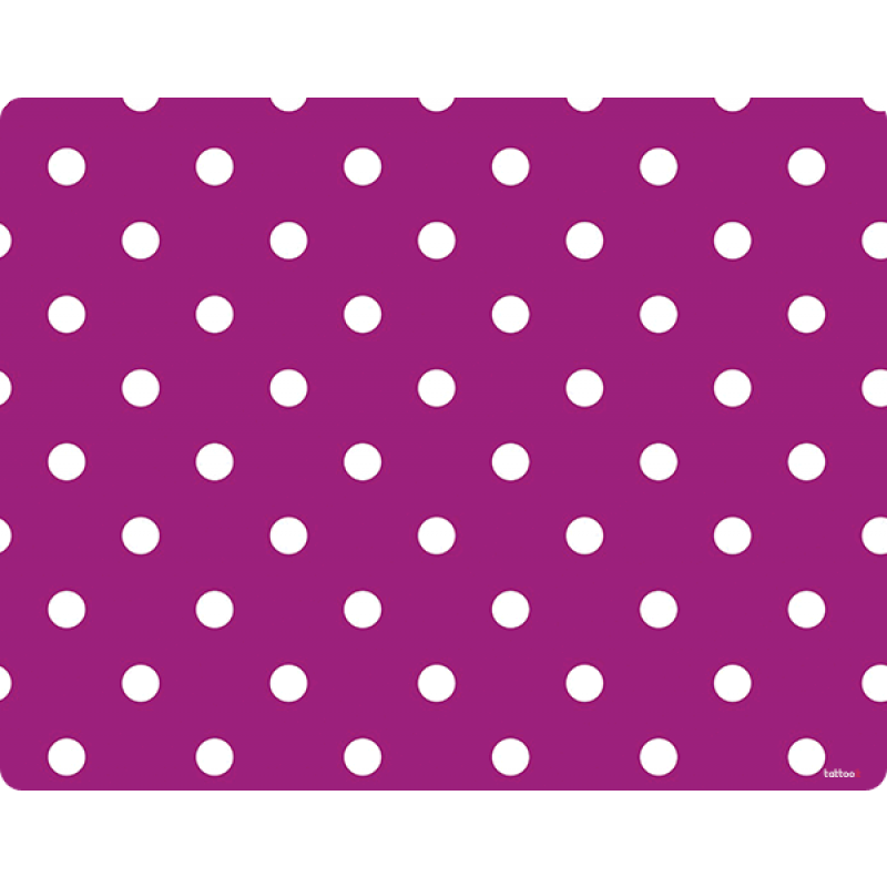 Purple White Dots - iPhone 6 Plus Skin