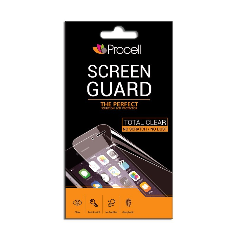 Folie Procell Clear (1 spate) - Sony Xperia Z3 Compact (Round Shape)