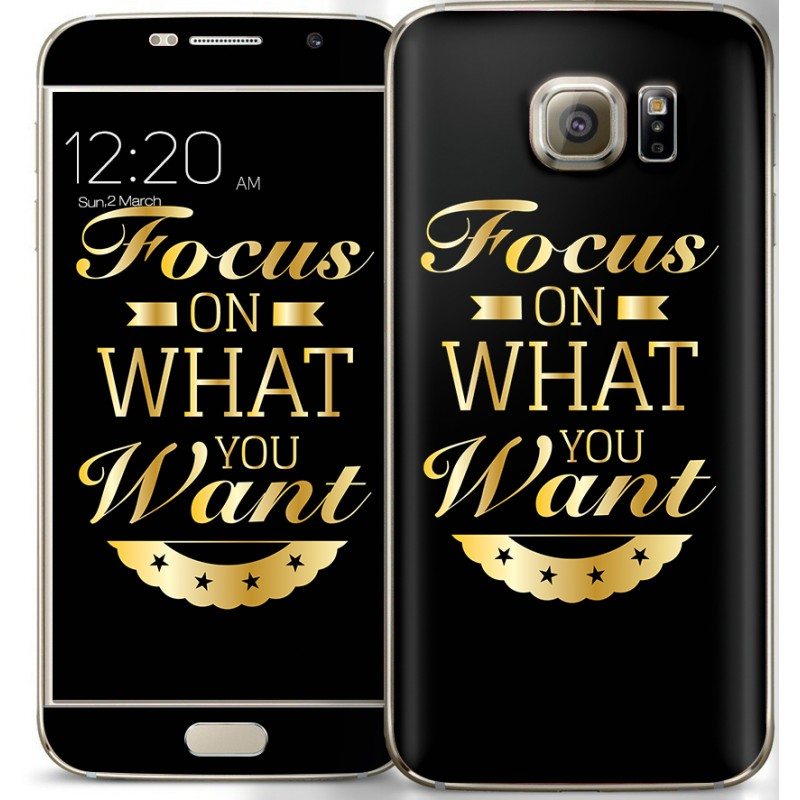 Focus - Samsung Galaxy S6 Skin