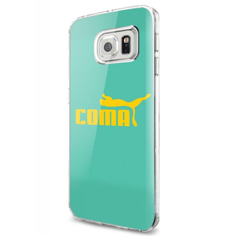 Coma - Samsung Galaxy S7 Edge Carcasa Silicon