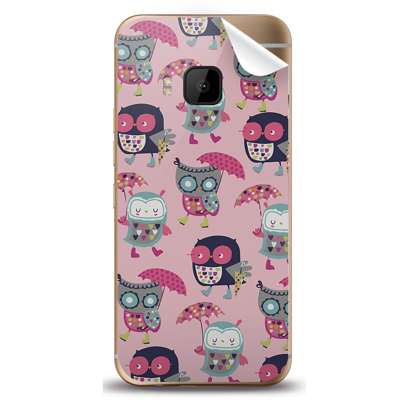 Pastel Owls - HTC One M9 Skin