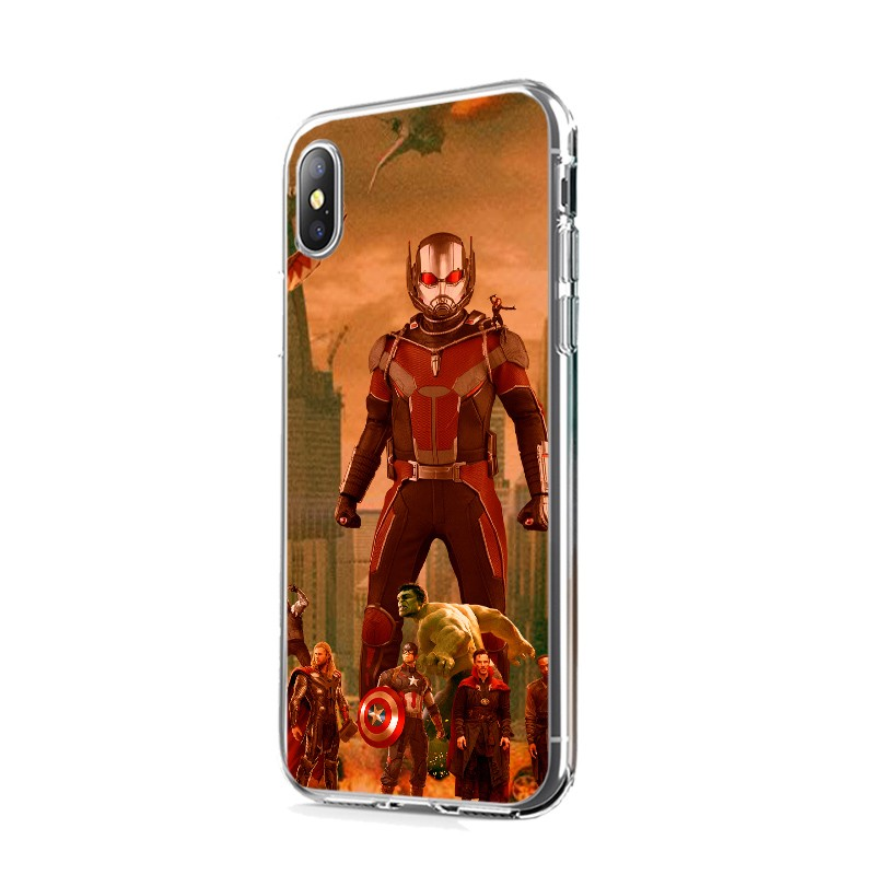 Ant Man Infinity War - iPhone X Carcasa Transparenta Silicon