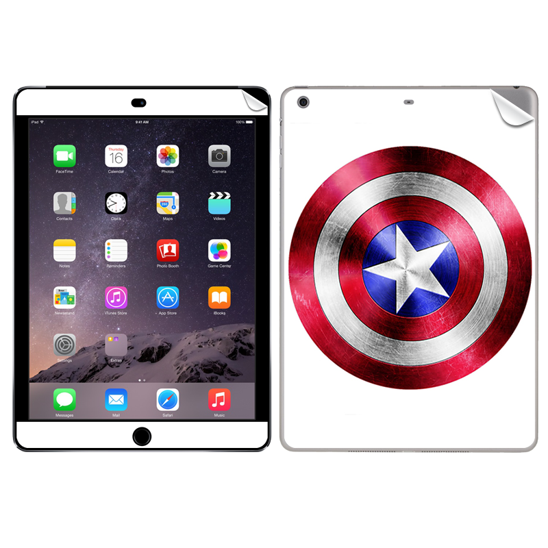 Captain America Logo - Apple iPad Air 2 Skin