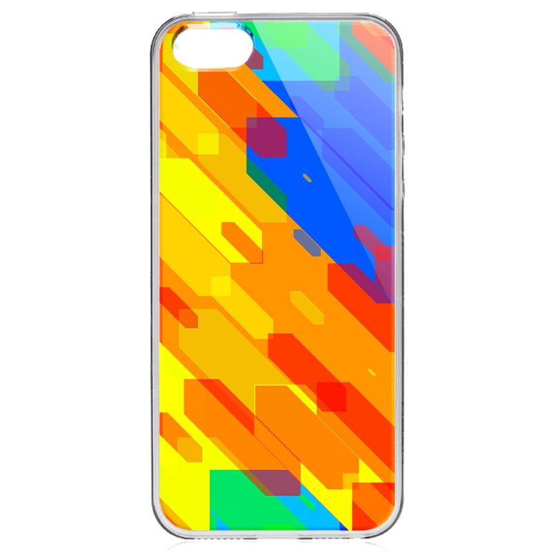 Ruby Slide - iPhone 5/5S/SE Carcasa Transparenta Silicon