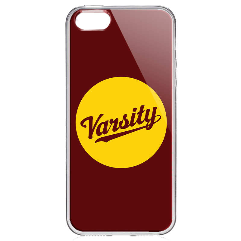 Varsity - iPhone 5/5S/SE Carcasa Transparenta Silicon