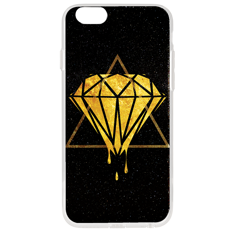 Diamond - iPhone 6 Plus Carcasa Transparenta Silicon