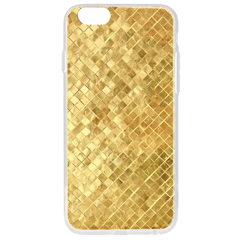 Squares - iPhone 6 Plus Carcasa Transparenta Silicon