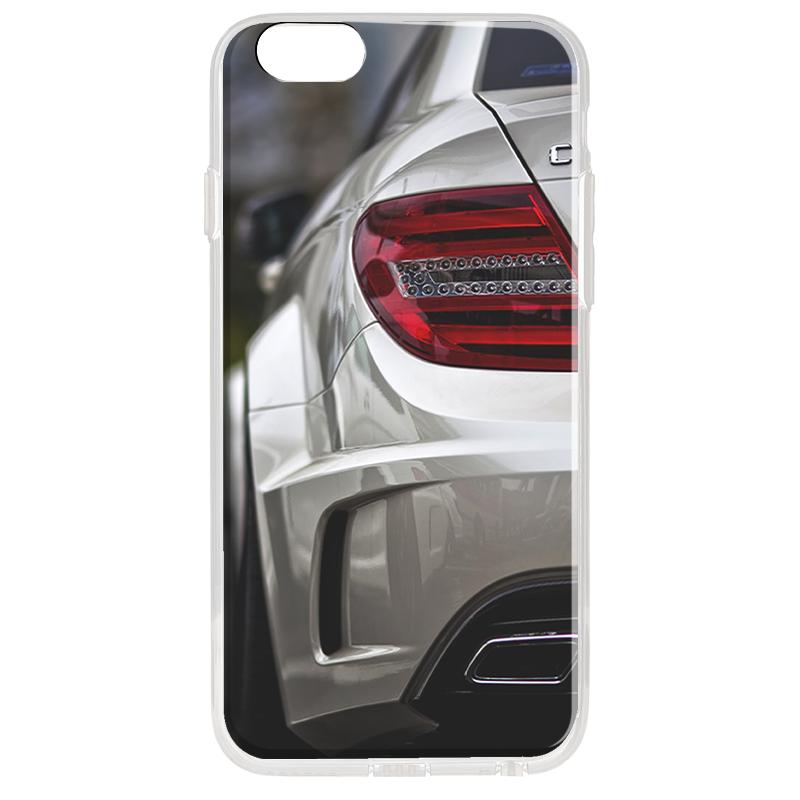 Mercedes C63 - iPhone 6 Plus Carcasa Transparenta Silicon