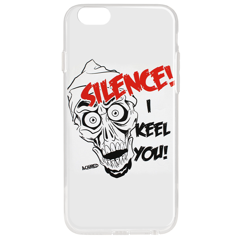 Silence I Keel You - iPhone 6 Plus Carcasa Transparenta Silicon