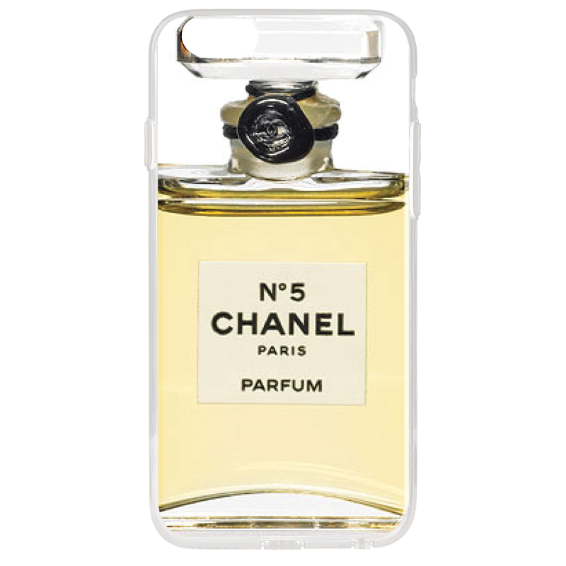 Chanel No. 5 Perfume - iPhone 6 Plus Carcasa Transparenta Silicon