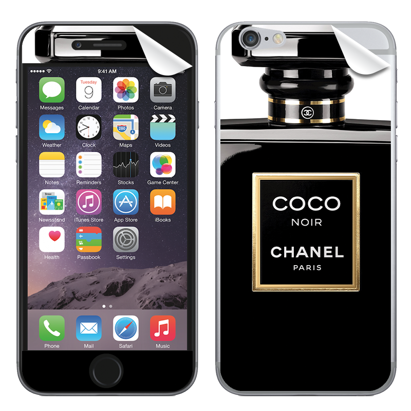 Coco Noir Perfume - iPhone 6 Plus Skin