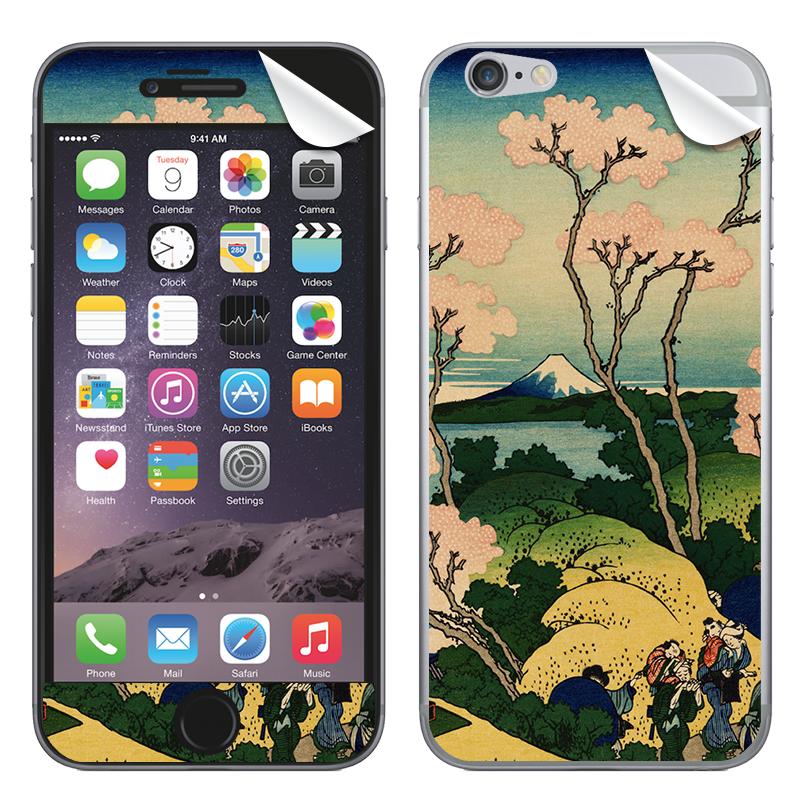 Hokusai - The Fuji from Gotenyama at Shinagawa on the Tokaido - iPhone 6 Skin