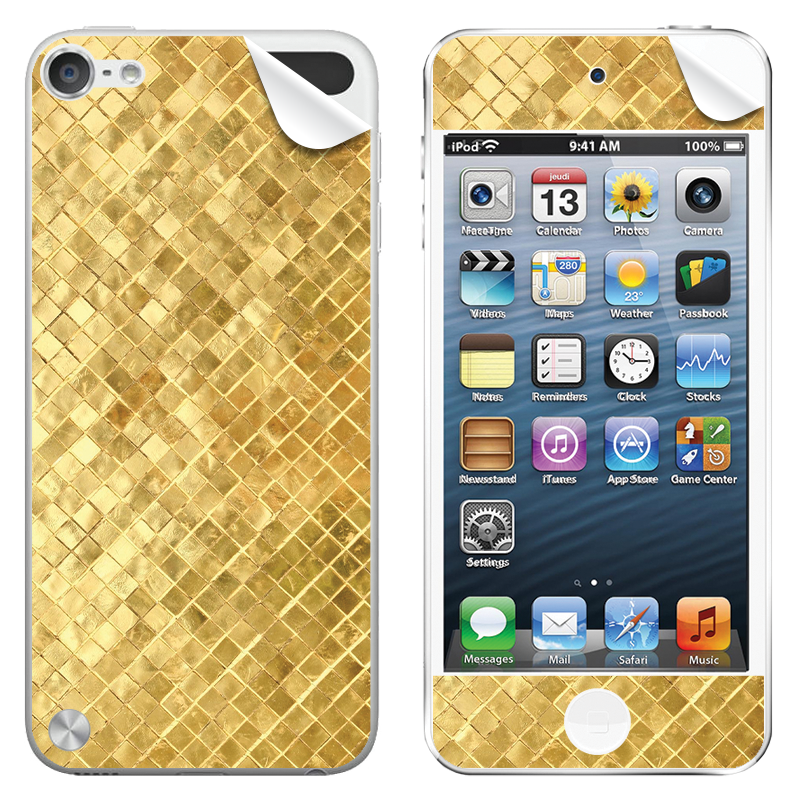 Squares - Apple iPod Touch 5th Gen Skin