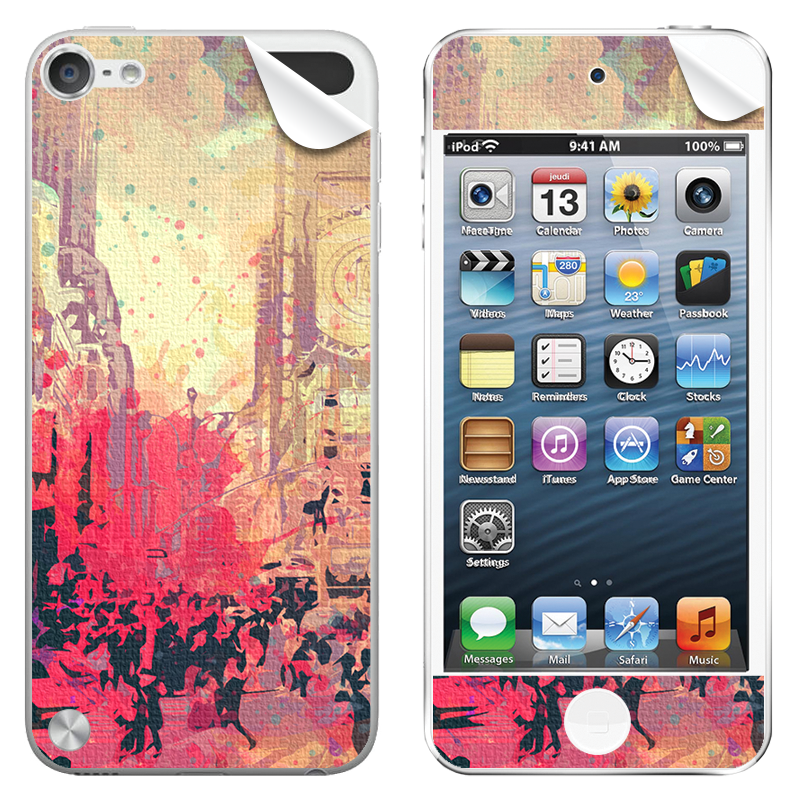 New York Time Square - Apple iPod Touch 5th Gen Skin
