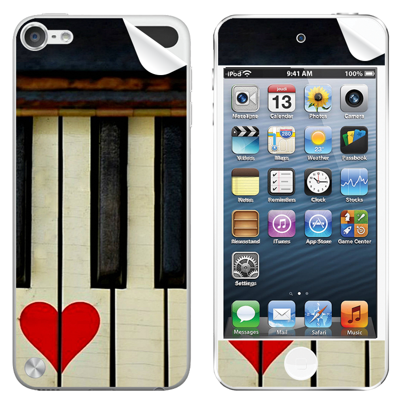 Piano Love - Apple iPod Touch 5th Gen Skin