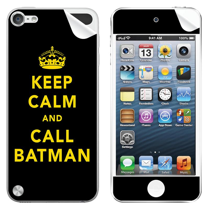 Keep Calm and Call Batman - Apple iPod Touch 5th Gen Skin