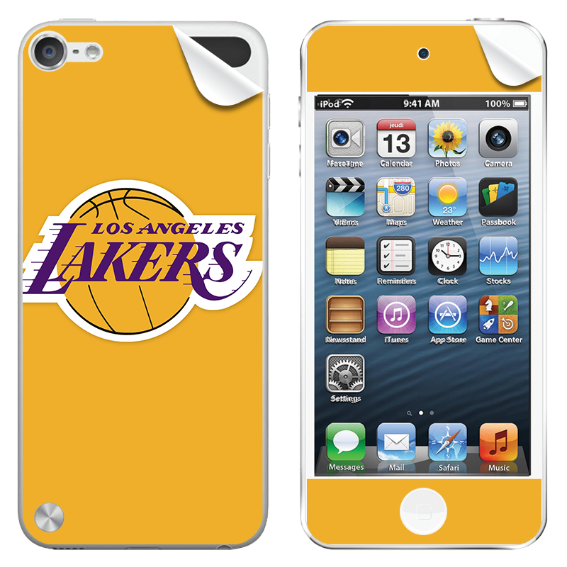 Los Angeles Lakers - Apple iPod Touch 5th Gen Skin
