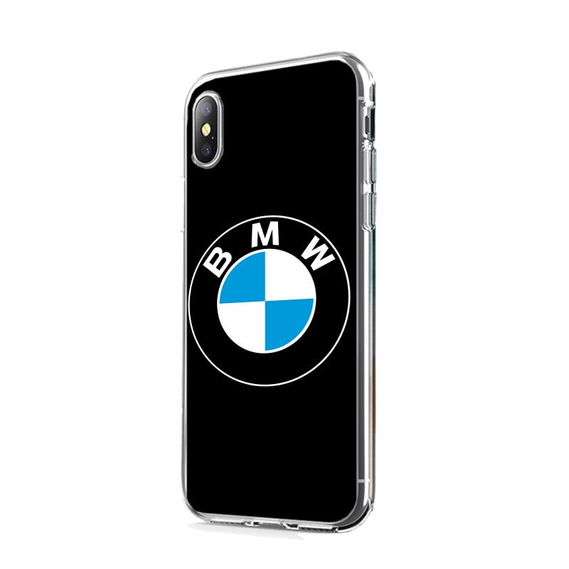 The BMW - iPhone X Carcasa Transparenta Silicon