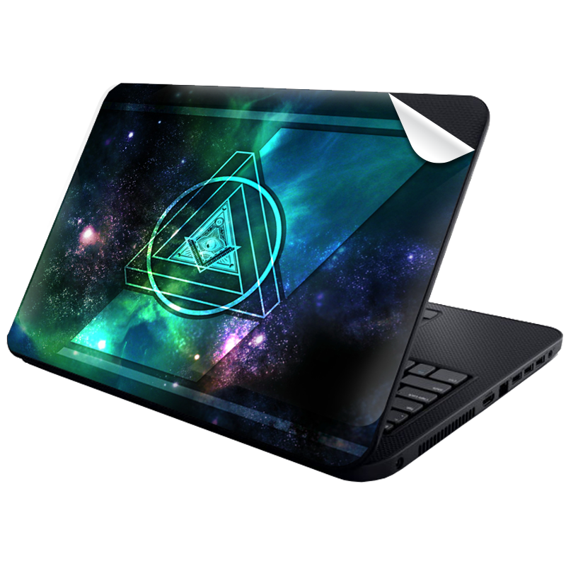 Triangle Galaxy 2 - Laptop Generic Skin