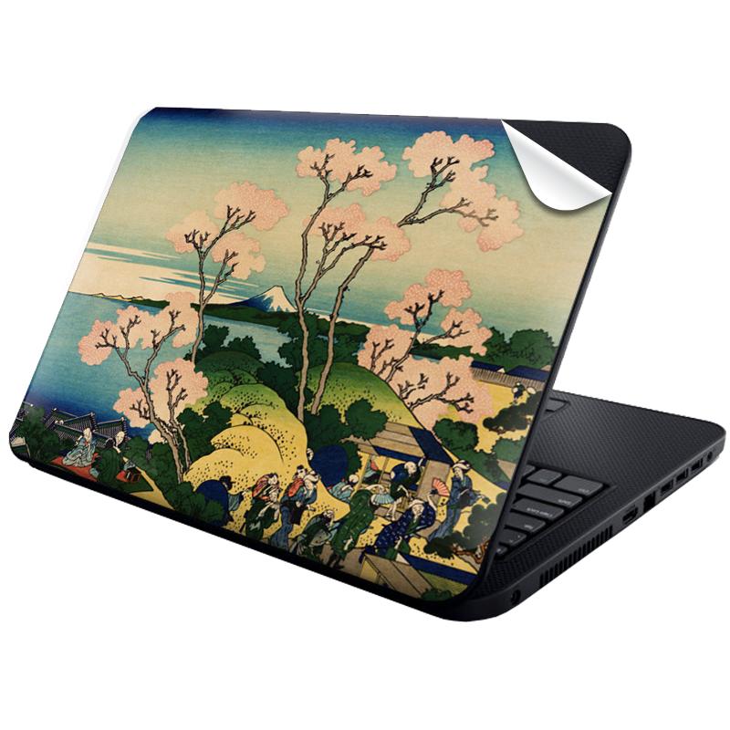 Hokusai - The Fuji from Gotenyama at Shinagawa on the Tokaido - Laptop Generic Skin