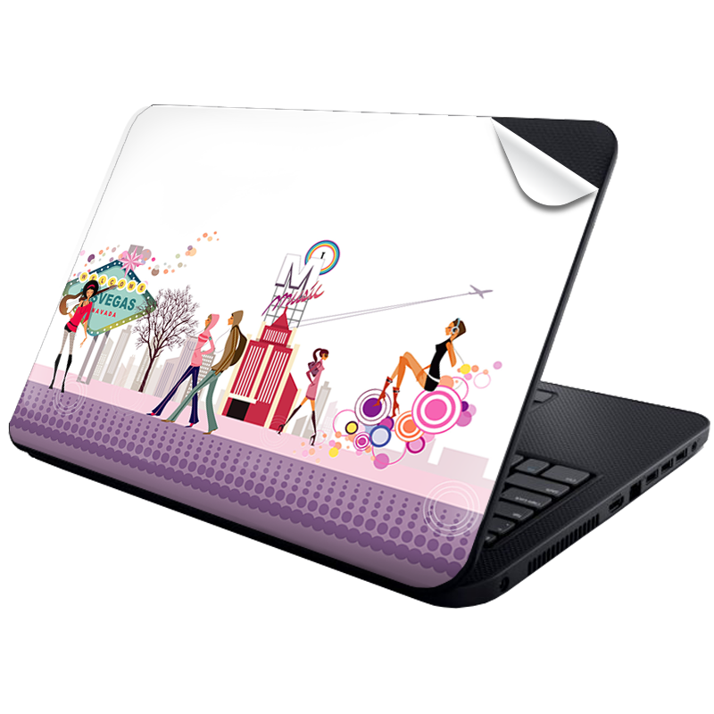 Vegas Music - Laptop Generic Skin